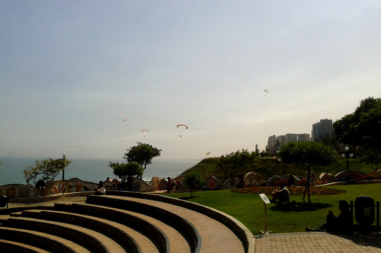 Tipp Paragliden in Miraflores Lima