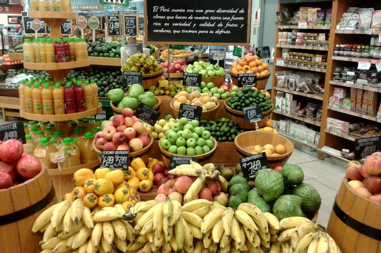 Einkaufstipp frisches Obst Wong Supermarkt Lima