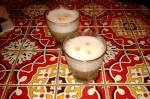 Pisco Sour nicht nur in Chile auch in Peru das Nationalgetreank