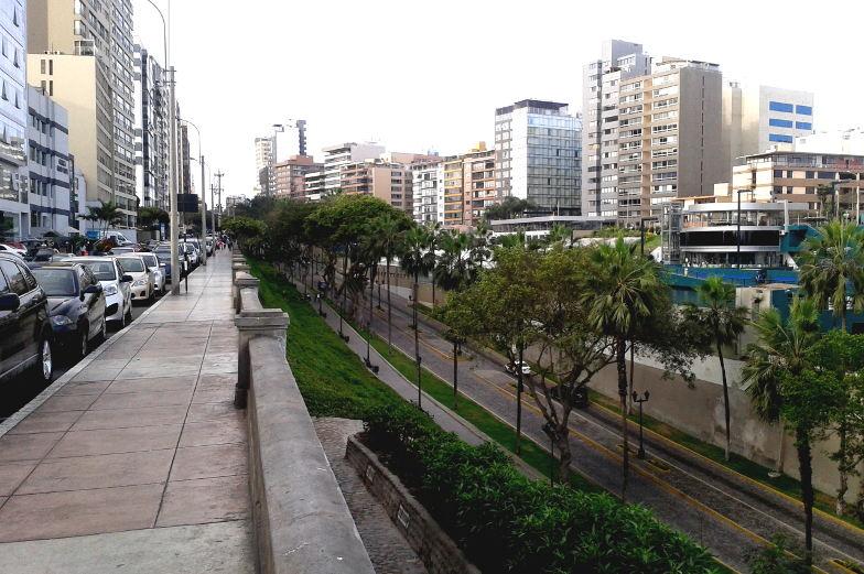 Tipp vom Strand in die Stadt in Miraflores Lima
