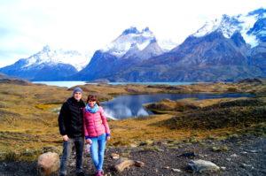 Nordenskjöld Berge und Seen im Torres del Paine Nationalpark