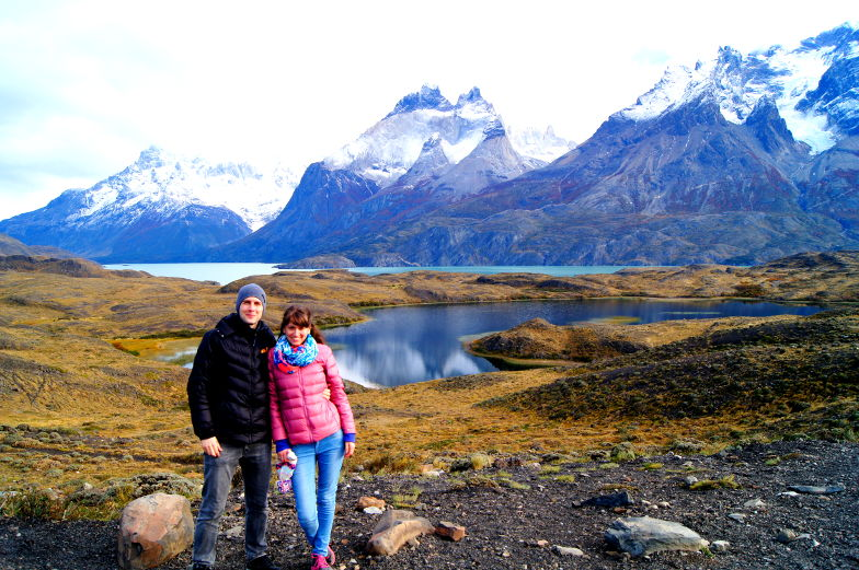 Nordenskjöld Berge und Seen im Torres del Paine Nationalpark