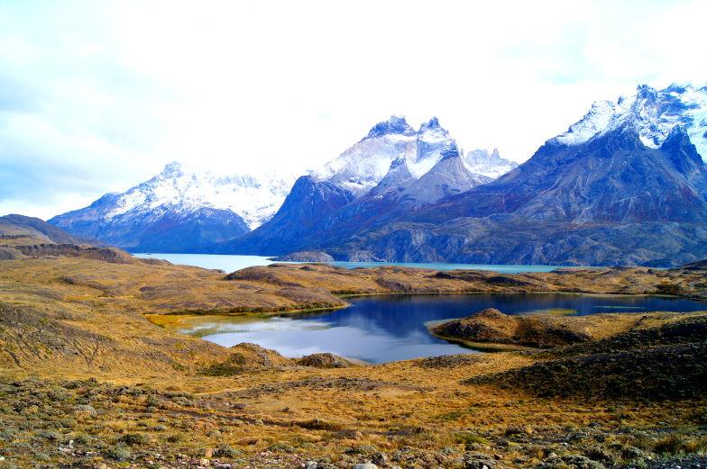 Torres del Paine wundervolle Landschaftsbilder Ausblick
