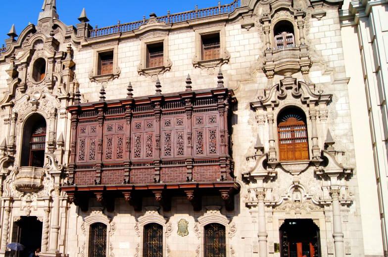 Parroquia del Sagrario Kathedrale Lima Sehenswuerdigkeiten