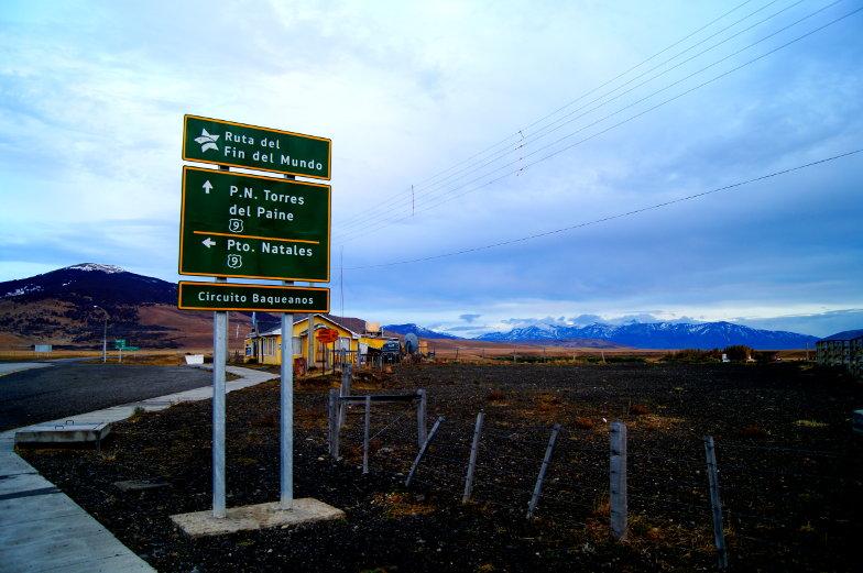 Ruta del Fin del Mundo zum Torres del Paine Nationalpark