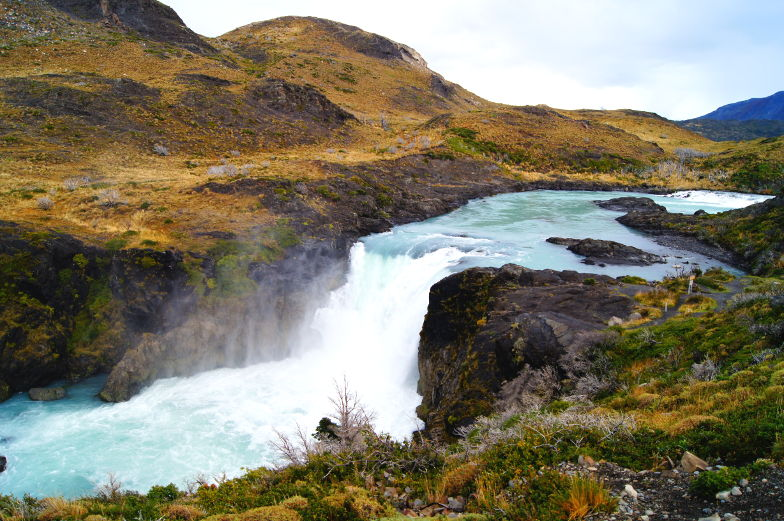 Wasserfall Salto Grande im Torres del Paine Nationalpark