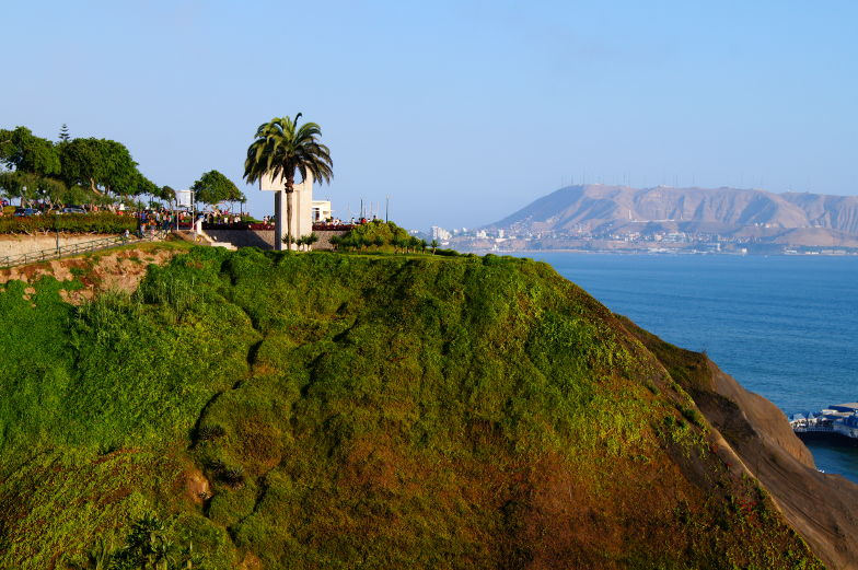 Parkanlagen Miraflores Lima