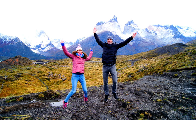 Spass im Torres del Paine Nationalpark