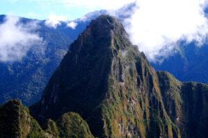 Wanderung auf den Huayna Berg Machu Picchu