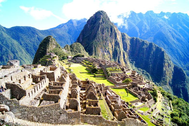 Am Machu Picchu gibt es vieles zu entdecken