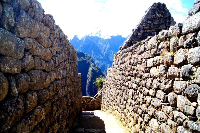 Durch die Machu Picchu Inkastaette