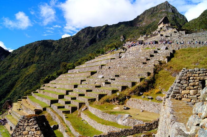 Spaziergang Machu Picchu