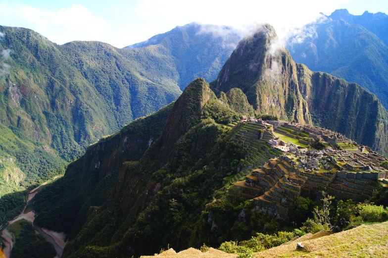 Machu Picchu Stadt macht sprachlos