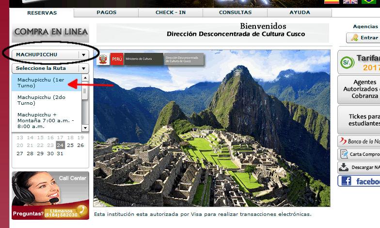 Waehle deine Machu Picchu Tour aus