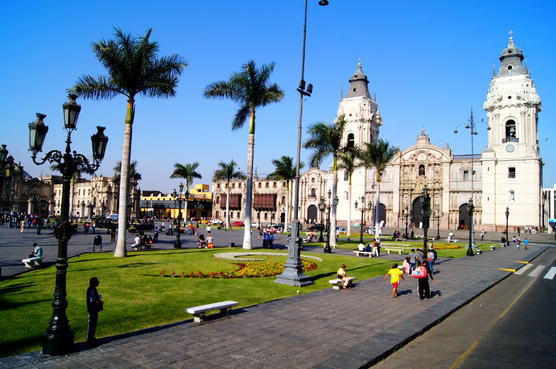 Tipp Plaza de Armas Kathedrale Altstadt Lima