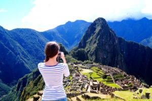 Machu Picchu Bilder sind ein schoenes Andenken