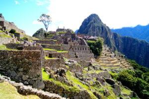 Machu Picchu von den Inkas erbaut