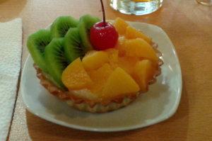 Leckere Sandwiches und Kuchen in Aguas Calientes