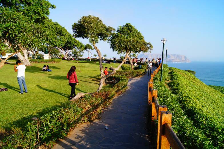 Tipp Promenade Malecon zur Larcormar Mall Miraflores Lima