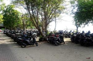 Auf Bali herrscht Linksverkehr