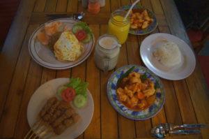 Auf Bali gibt es jede Menge leckeres essen