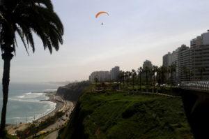 Weltreise Erinnerungen an Limas Promenade