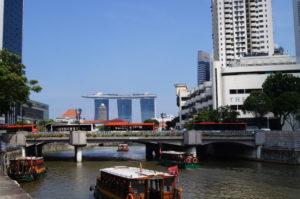 In Singapur ist es moeglich eine Weltreise in der Stadt zu erleben