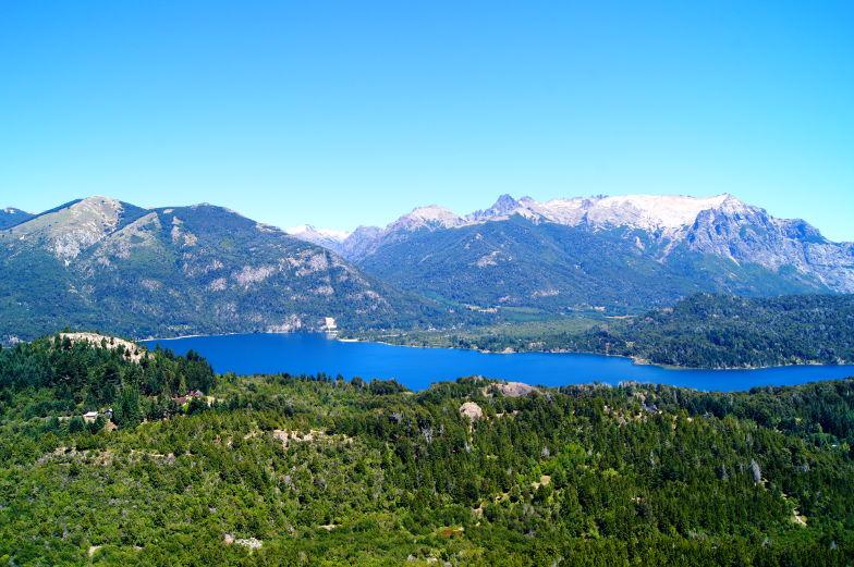 Auch im Sommer gibt es Schneeberge in Bariloche