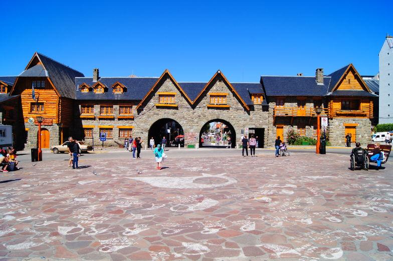 Stadtplatz von Bariloche
