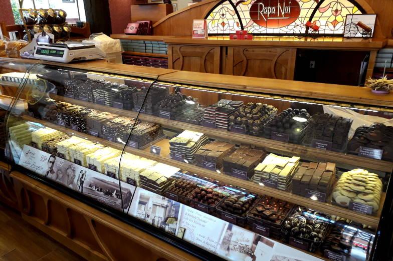 Jede Menge Schokolade gibt es in Bariloche