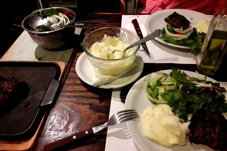 Restaurant Alto El Fuego mit tollem Steak