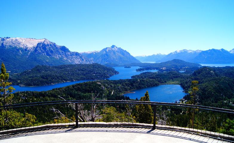 Bester Ausblick vom Cerro Campanario in Bariloche