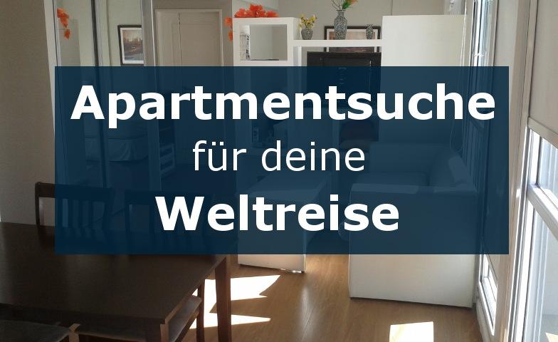 Suche auf Airbnb das perfekte Apartment für deine Weltreise
