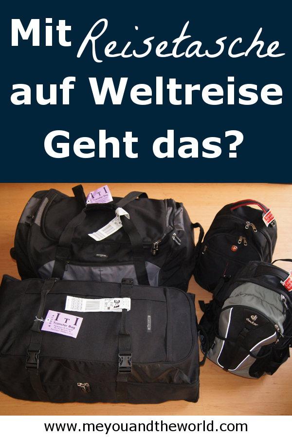 Tipps fuer eine Weltreise mit Reisetasche