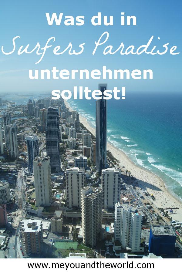 Reisetipps und Sehenswuerdigkeiten fuer Surfers Paradise