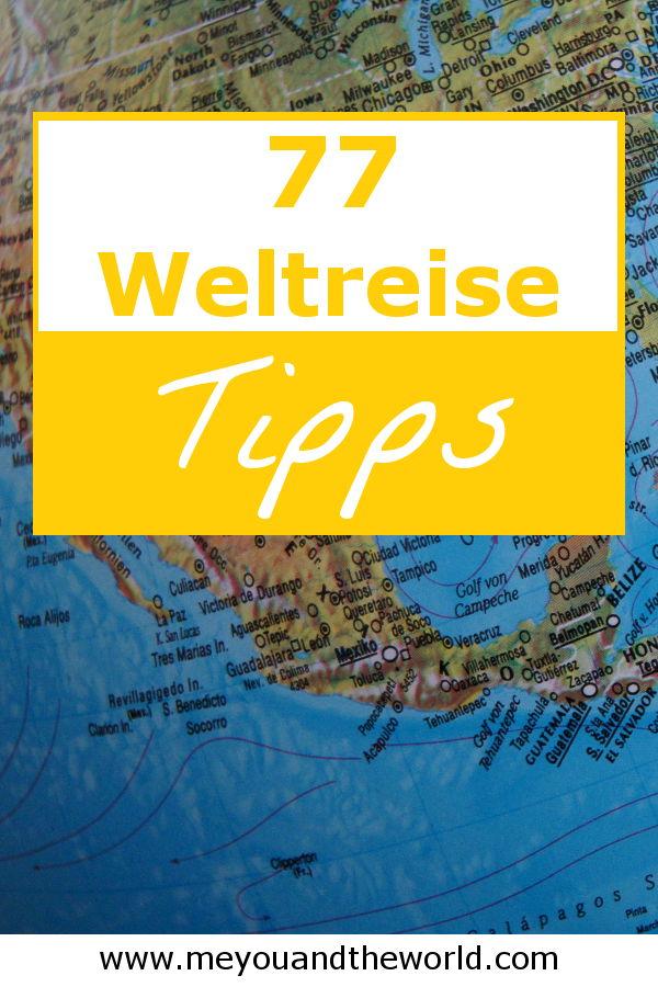 77 Tipps fuer deine Weltreise