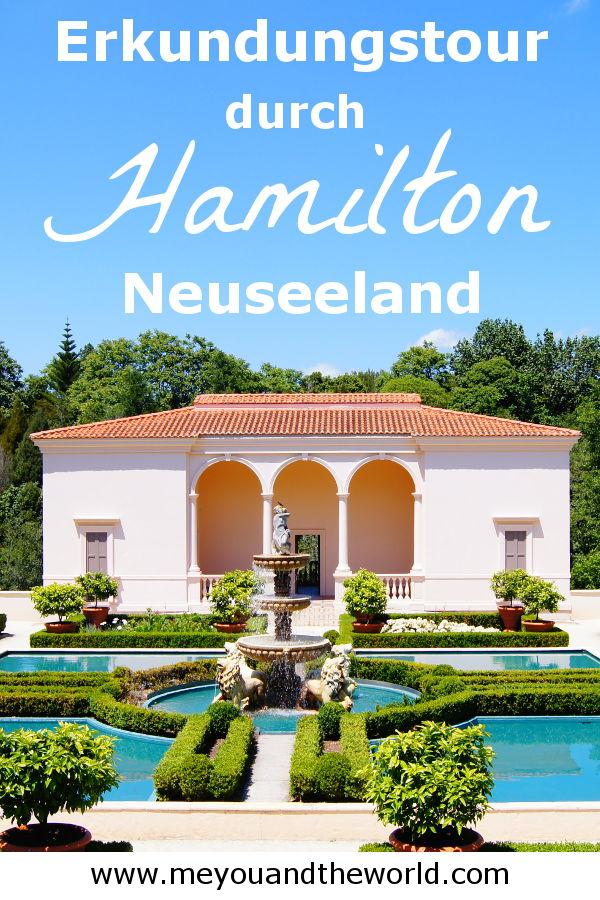 Erkunde die Sehenswuerdigkeiten von Hamilton in Neuseeland