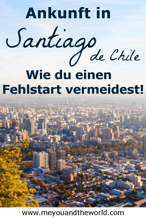 Tipps zu Ankunft in Santiago de Chile