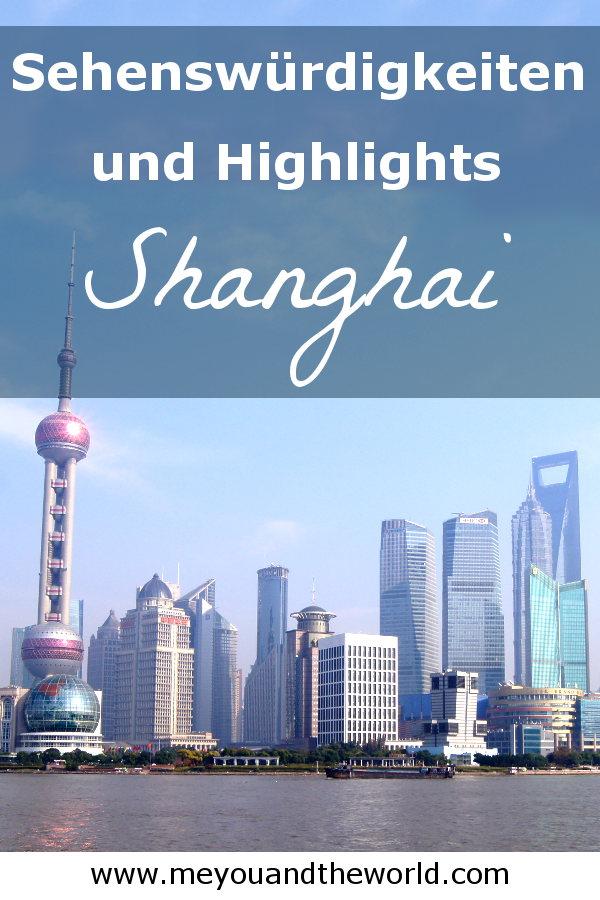 Tipps und Sehenswuerdigkeiten fuer deine Reise nach Shanghai