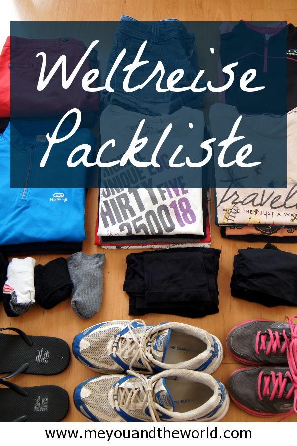 Alles was du fuer deine Weltreise brauchst findest du in meiner Packliste mit Ausruestungstipps