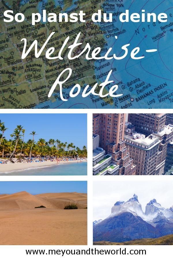 Tipps zu Reiseziele und Planung deiner Weltreise Route