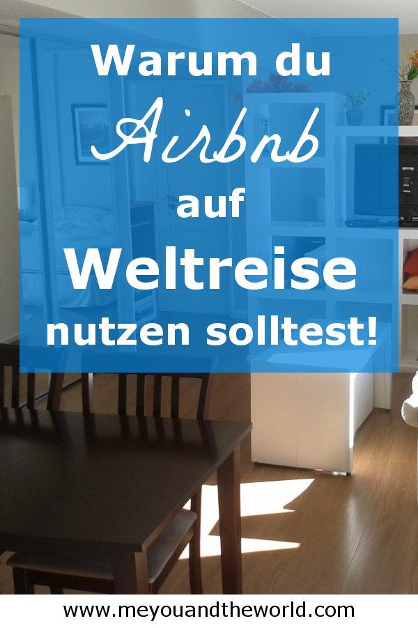 Airbnb Apartment auf Weltreise nutzen