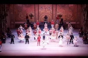 Ballettaufführung Nussknacker im Opernhaus von Santiago de Chile