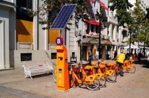 Santiago de Chile Fahrrad ausleihen Tipp