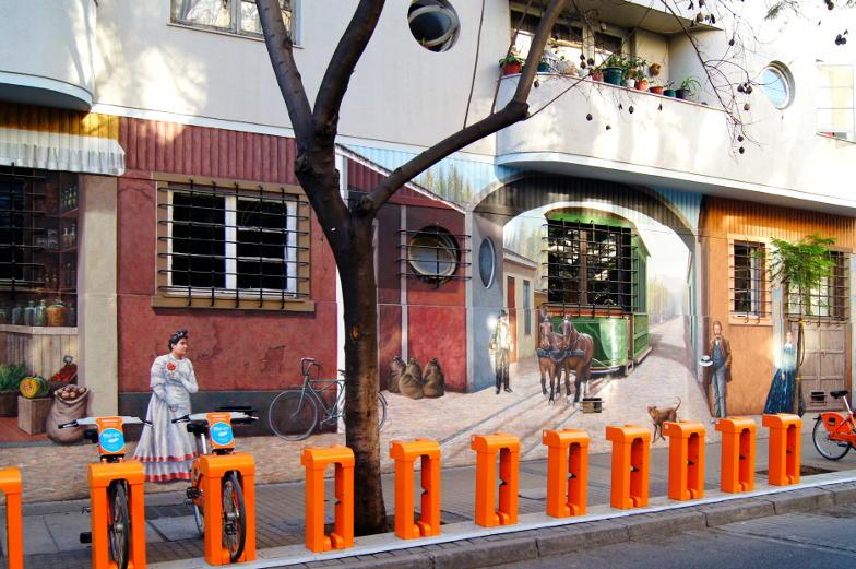 Tipps Streetart in Santiago de Chile Kuenstlerviertel