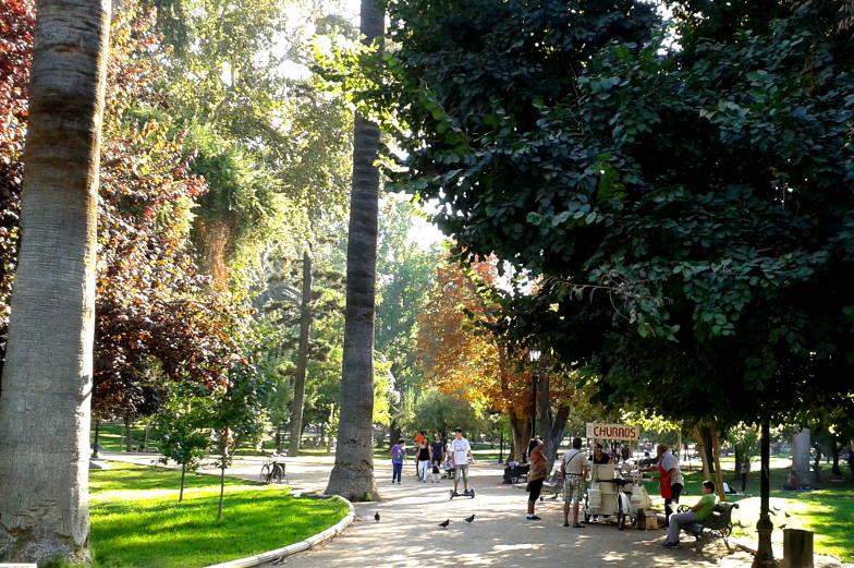Tipps schoene Parks in Santiago de Chile