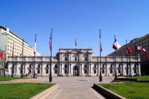 Der Praesidentenpalast von Santiago de Chile Tipp