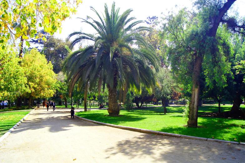 Tipp Parque Forestal beliebter Treffpunkt in Santiago de Chile
