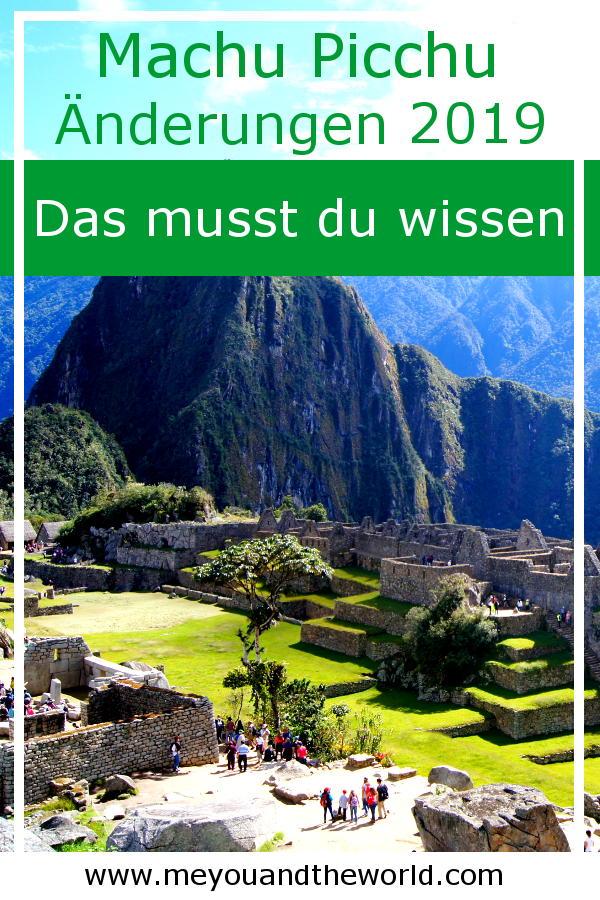 Neue Regelungen und Zeiten beim Machu Picchu Besuch