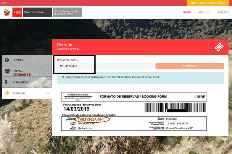 Machu Picchu Ticket online buchen